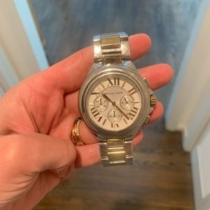 Michael Kors Two toned watch